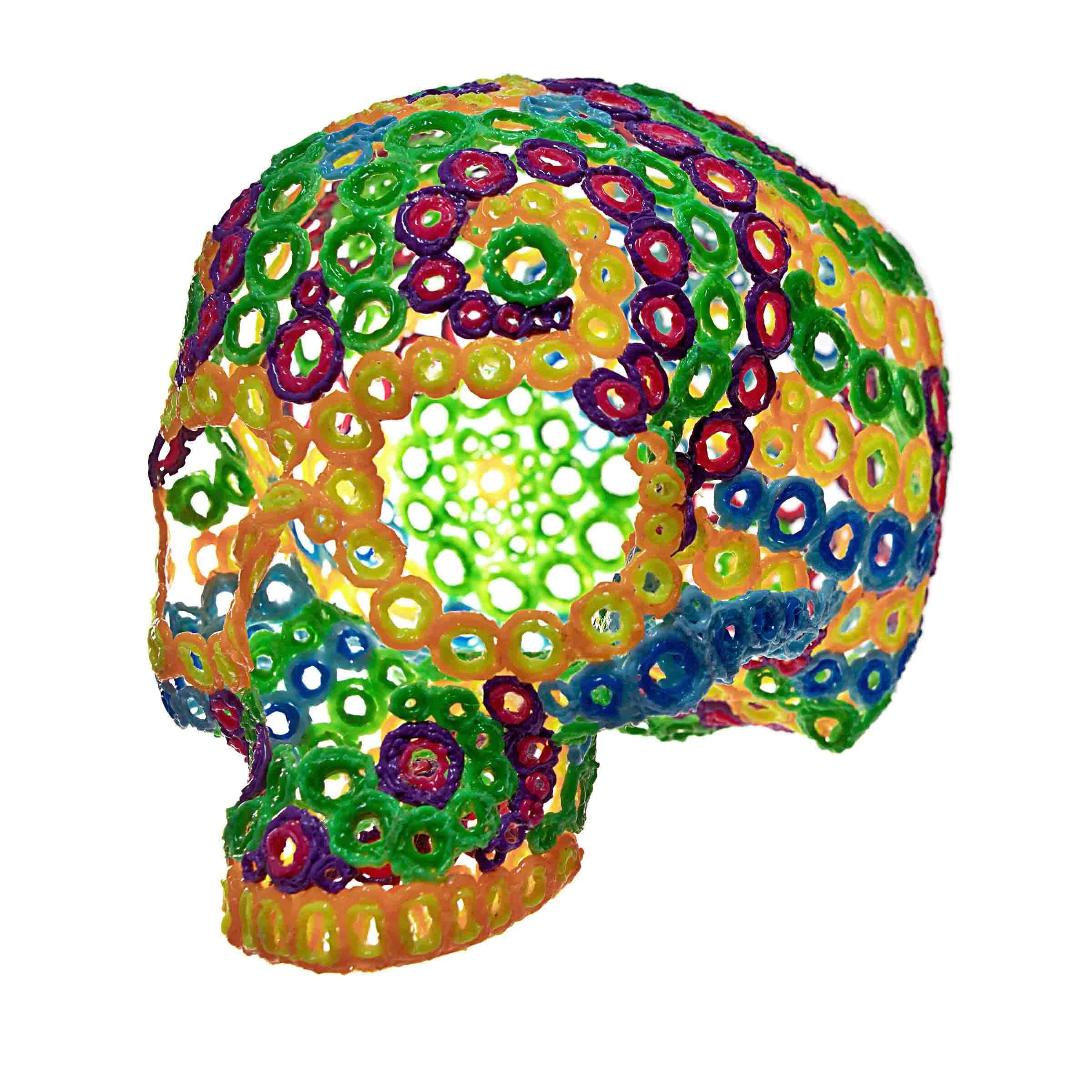 fibonacci skull by Leo Haz