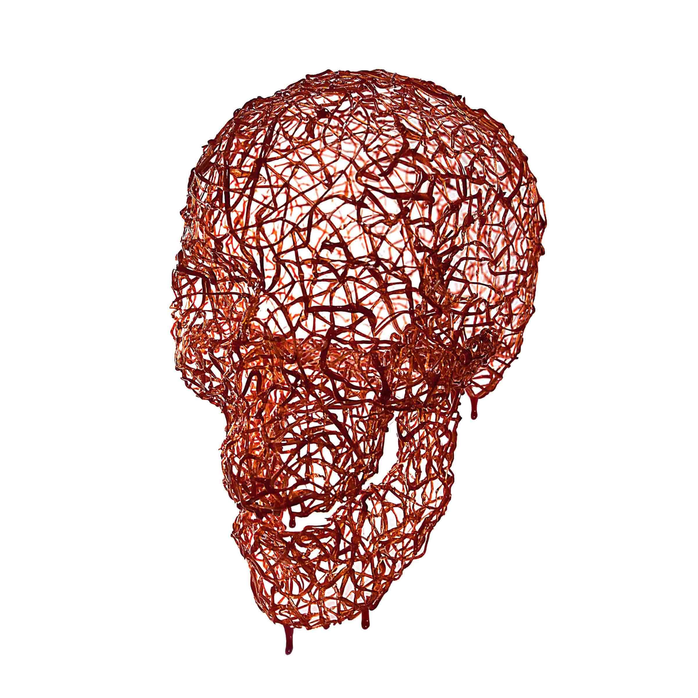 adrenochrome skull by Leo Haz